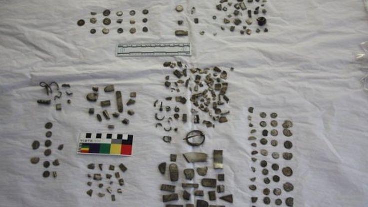 Roman treasure from Shropshire - hacksilver
