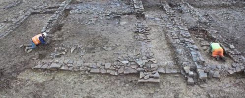 Roman remains were found in South Wales
