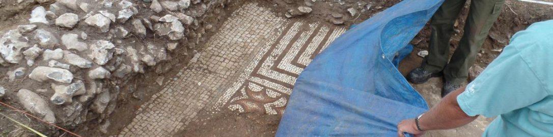 Odkryto rzymską willę w Dorchester