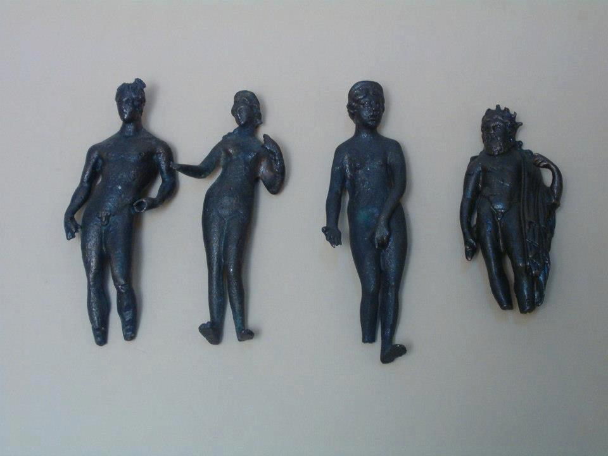 Figurki rzymskich bóstw