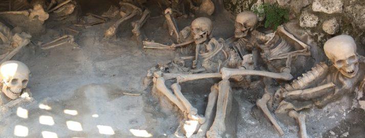 Vesuvius victims in Herculaneum