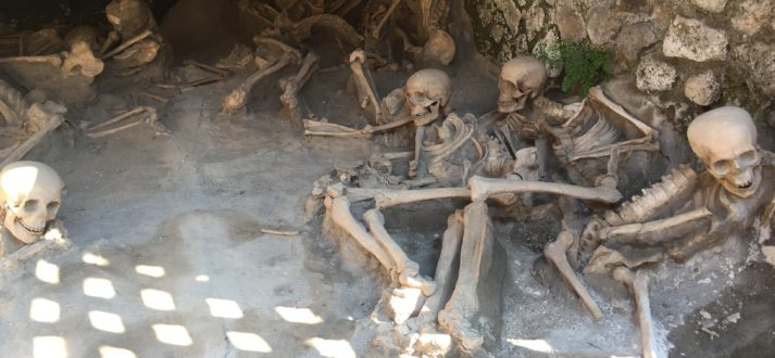 Did victims of Vesuvius die more slowly than previously thought?
