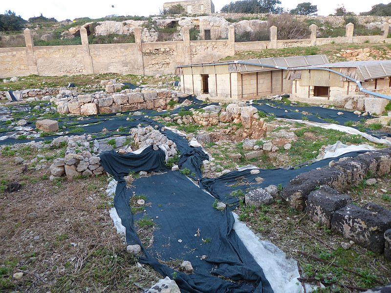 Rzymskie termy na Malcie