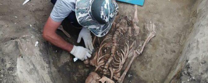 Na Kaukazie natrafiono na szczątki ludzkie z rzymską biżuterią
