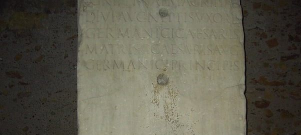 Tombstone of Agrippina the Elder