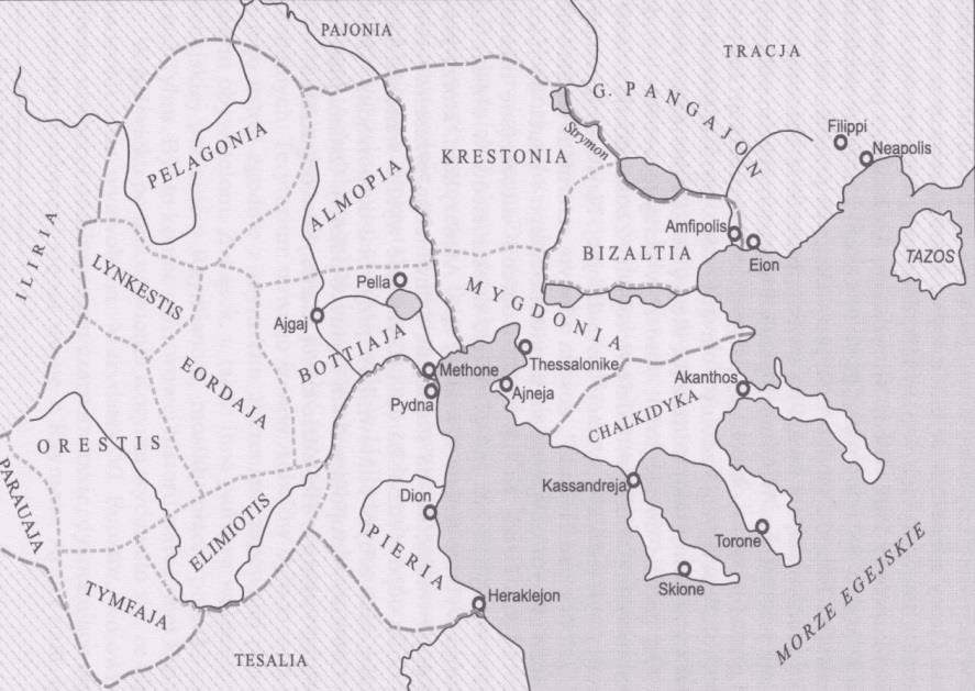 The lands of Macedonia in antiquity