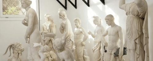 Rzeźby z kolekcji rodu Torlonia