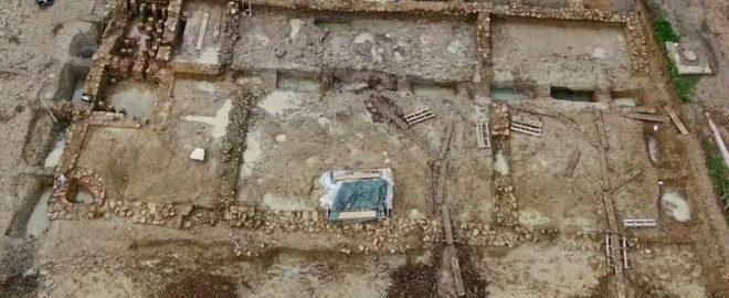 Działania na rzecz zachowania pozostałości rzymskiej willi w Gloucestershire