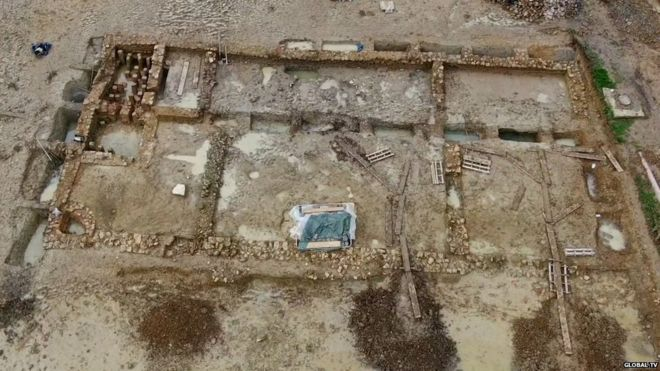 Actions to preserve remains of Roman villa in Gloucestershire