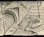Relief from the lararium at the home of Lucius Caecilius Iucundus, which is believed to show the destruction of public buildings in the city as a result of the earthquake
