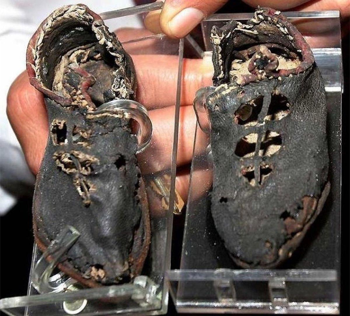 Dziecięce buty z Palmyry