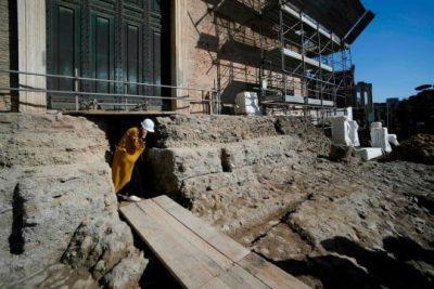 Odkryto świątynię i sarkofag, które mogły być poświęcone Romulusowi