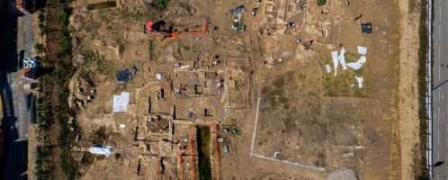 A Roman necropolis was discovered in France