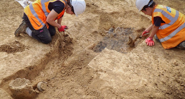 2,000-year-old grave of warrior from Britannia was discovered