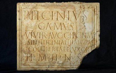 Rzymska tablica nagrobna z Narbony