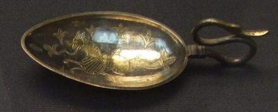 Srebrna łyżka rzymska z Hoxne