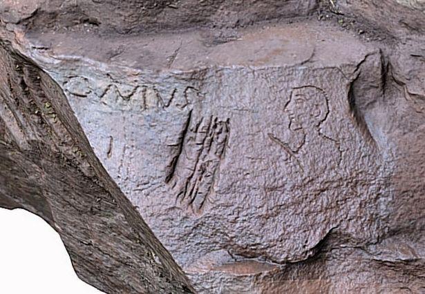 Roman graffiti from around Hadrian\'s Wall