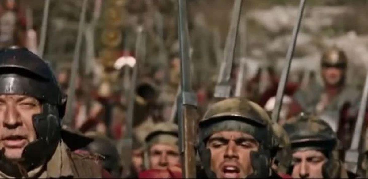 Did Roman legionaries sing songs during march?