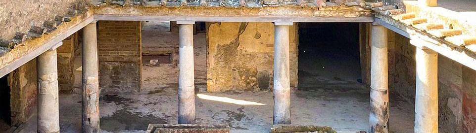 House of Lovers in Pompeii