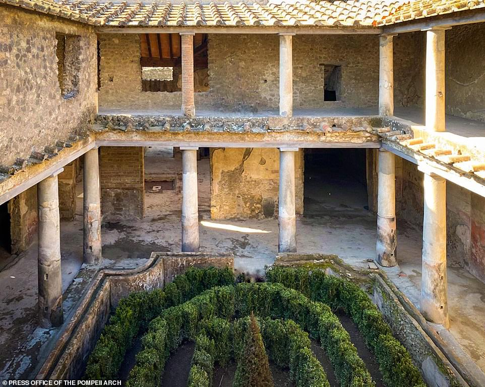 House of Lovers in Pompeii available for sightseeing