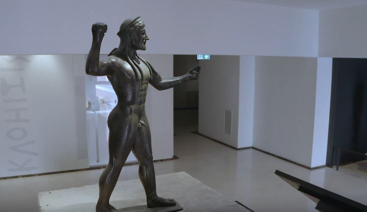 Virtual tour in The National Archaeological Museum in Tarent
