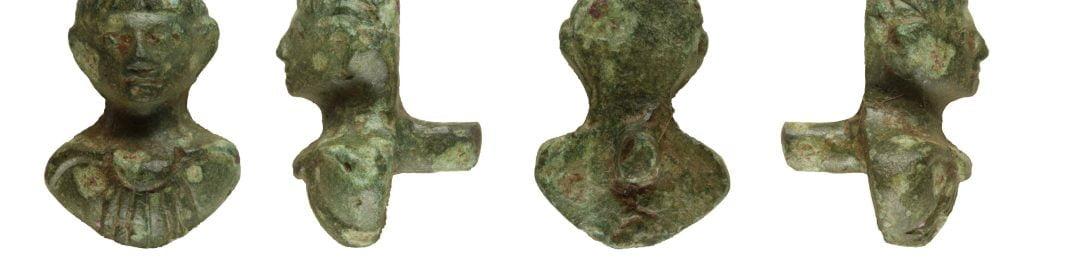 Mount in shape of Nero's head