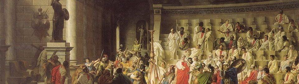 Raffaele Giannetti, Ostatni Senat Juliusza Cezara