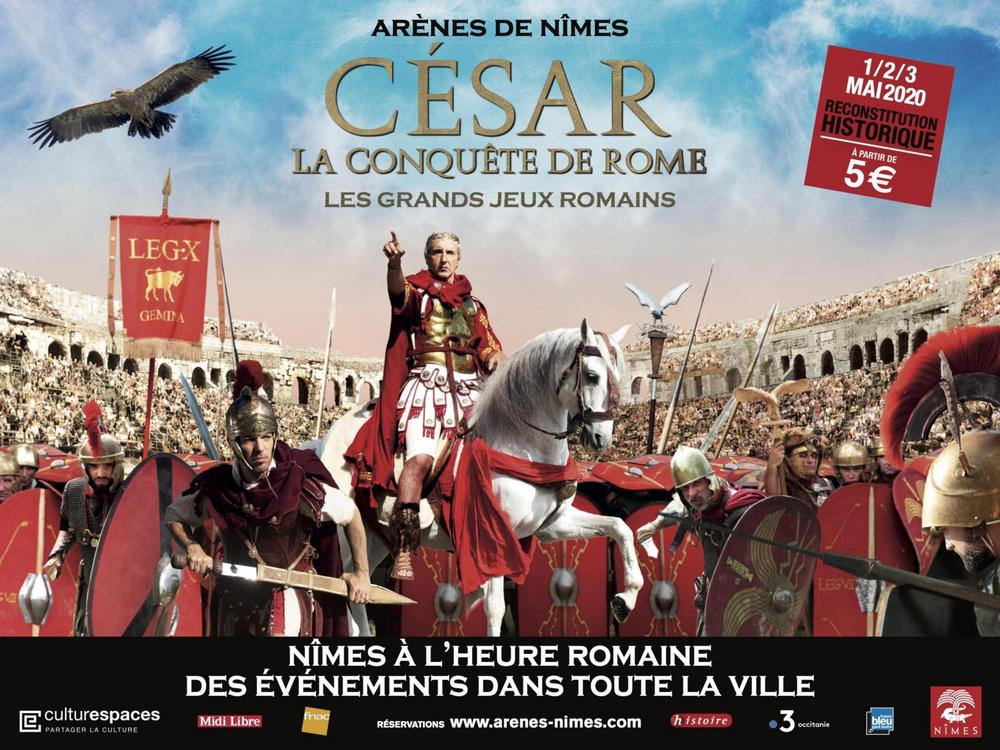 "Advertising film ""Les Grands Jeux Romaines"" for 2020"