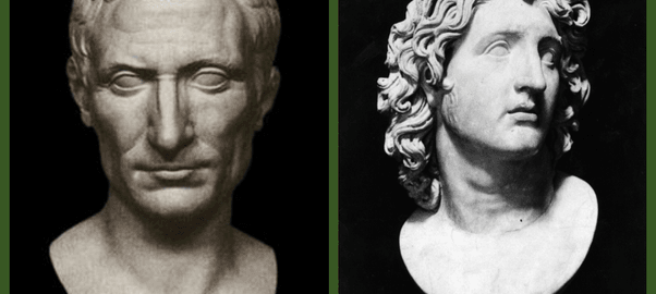 Comparing Caesar to Alexander the Great