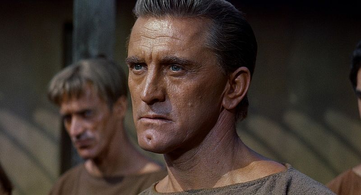 """Kultowa scena z filmu """"Spartakus"""""""