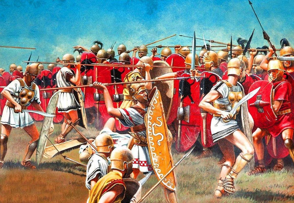Atak Samnitów na wojska rzymskie