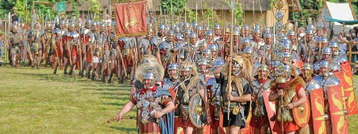 Kolumna legionistów