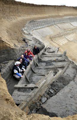 Wydobyto rzymskie statki w Serbii