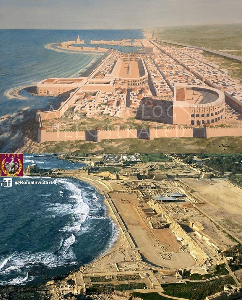 Reconstruction of the Seaside Caesarea