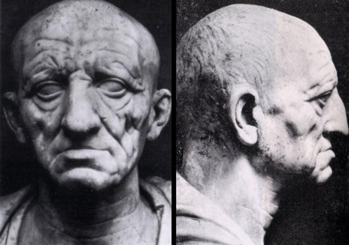 Popiersie starszego mężczyzny - tzw. patrycjusz Torlonia