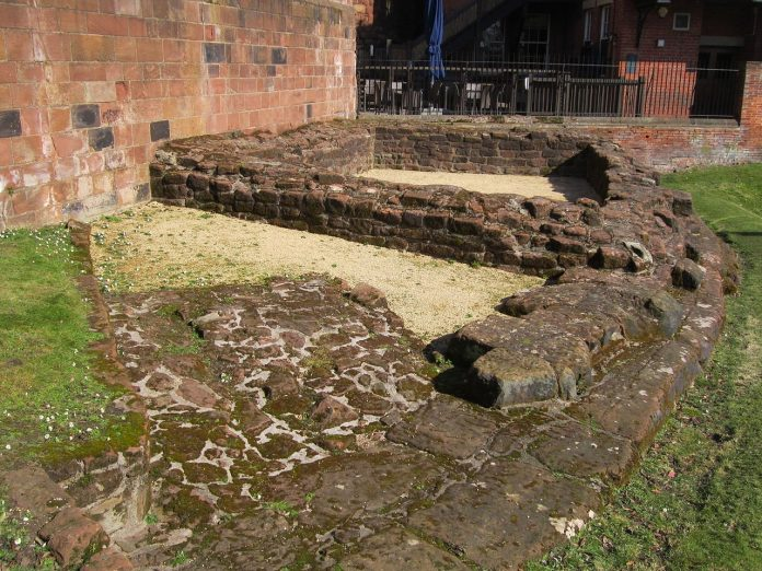 Remains of the Deva Victrix - Roman camp in England
