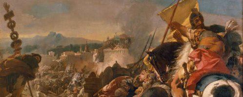 Zdobycie Kartaginy, Giovanni Domenico Tiepolo