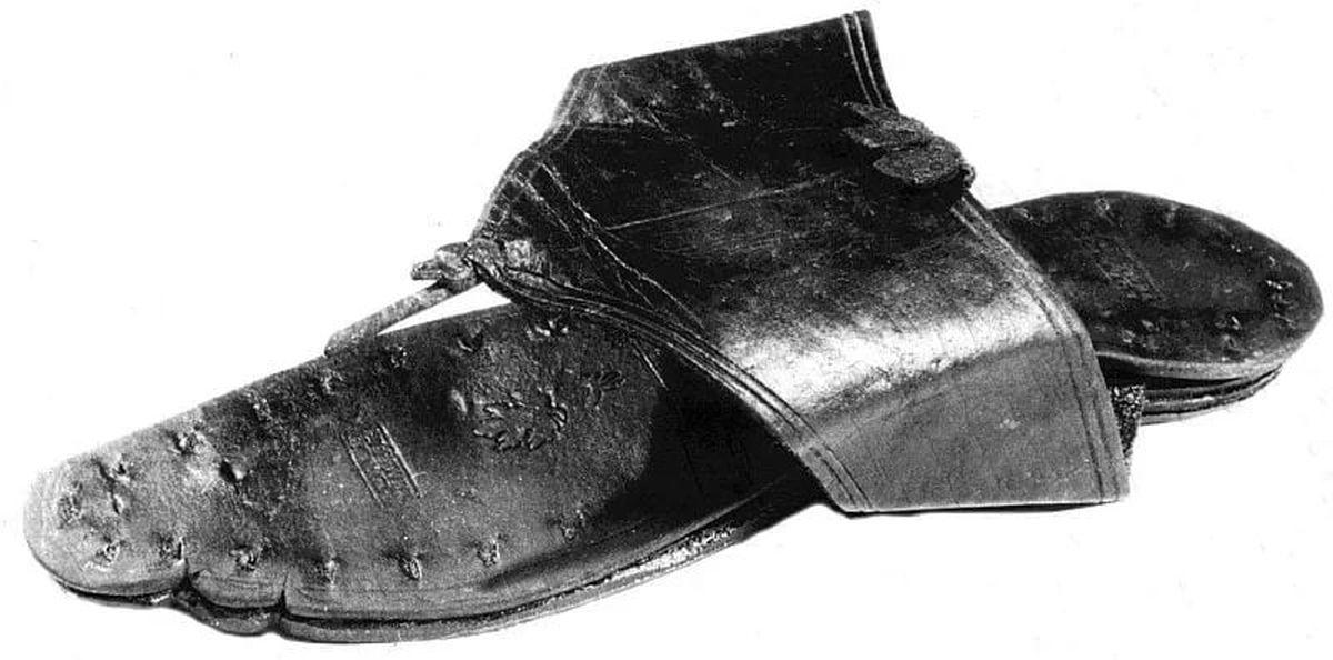 Very well preserved Roman slipper