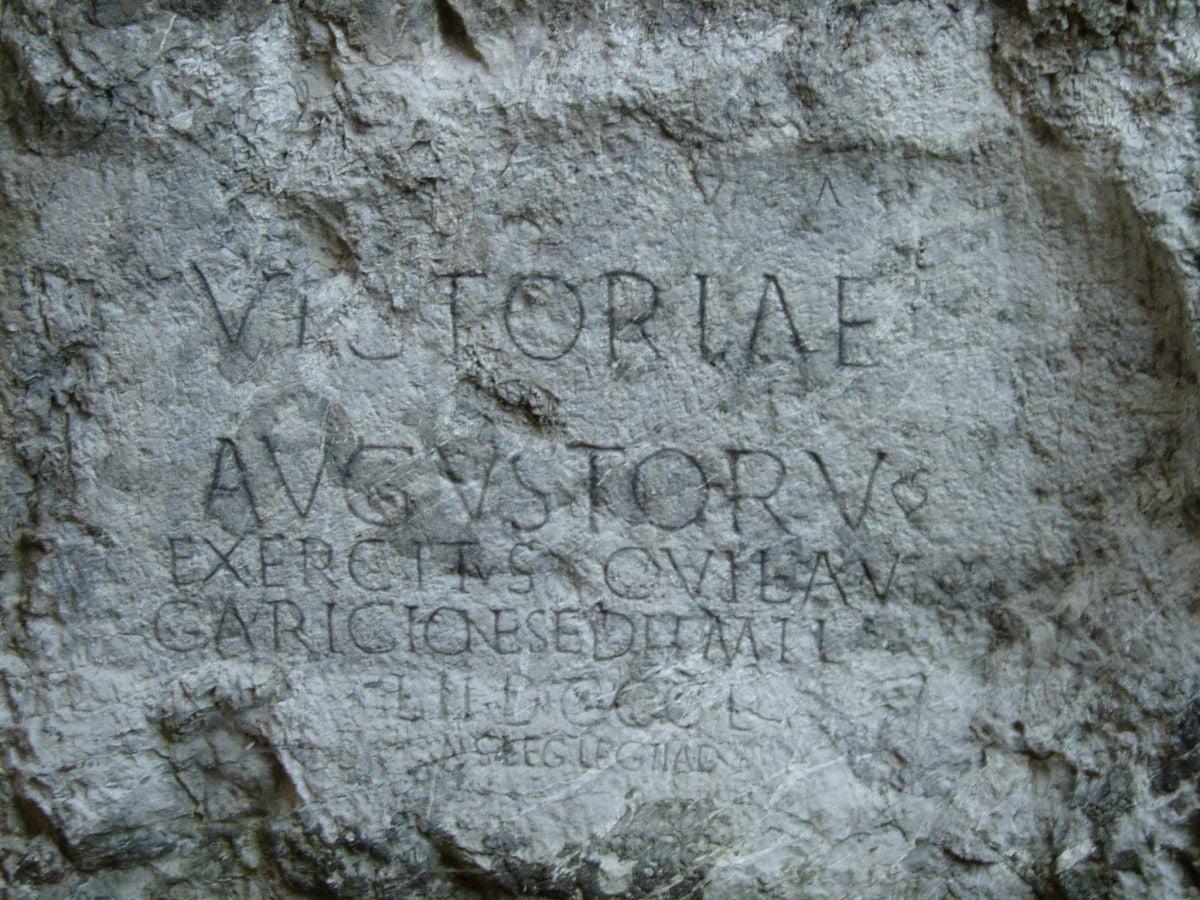 Inskrypcja rzymska z Trenczyna