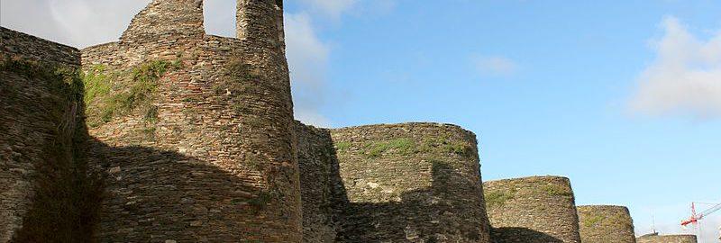 Defensive walls in Lugo
