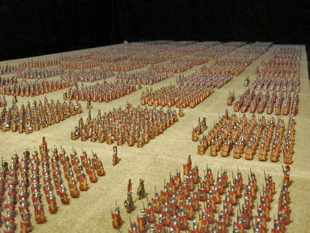 Niesamowita wystawa ukazująca legion rzymski