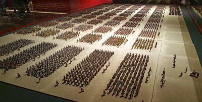 Amazing exhibition showing the Roman legion