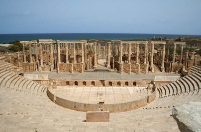 Teatr w Leptis Magna