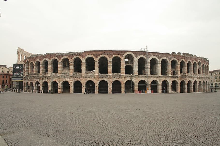Amphitheatre in Verona, Italy