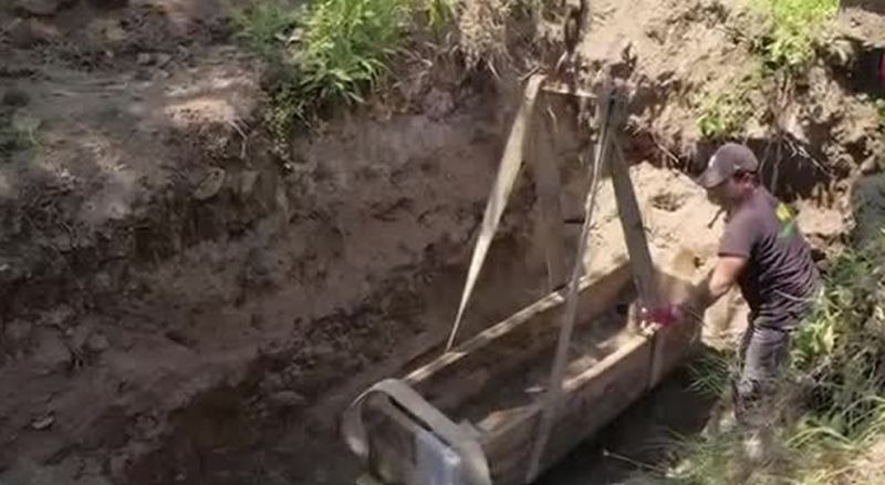 Well-preserved Roman sarcophagus was found in Ostia