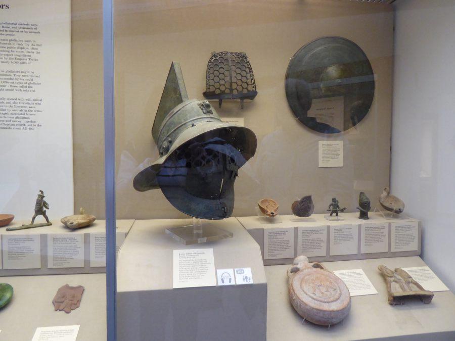 Hełm murmillo w British Museum