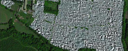 Mapa miasta rzymskiego Falerii Novi
