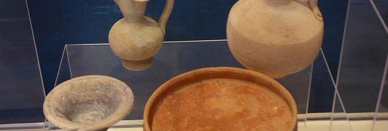 Naczynia wykonane z teraktory