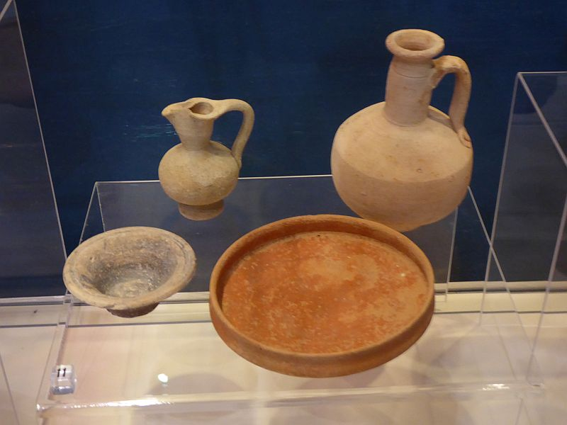 Dishes made from terracotta