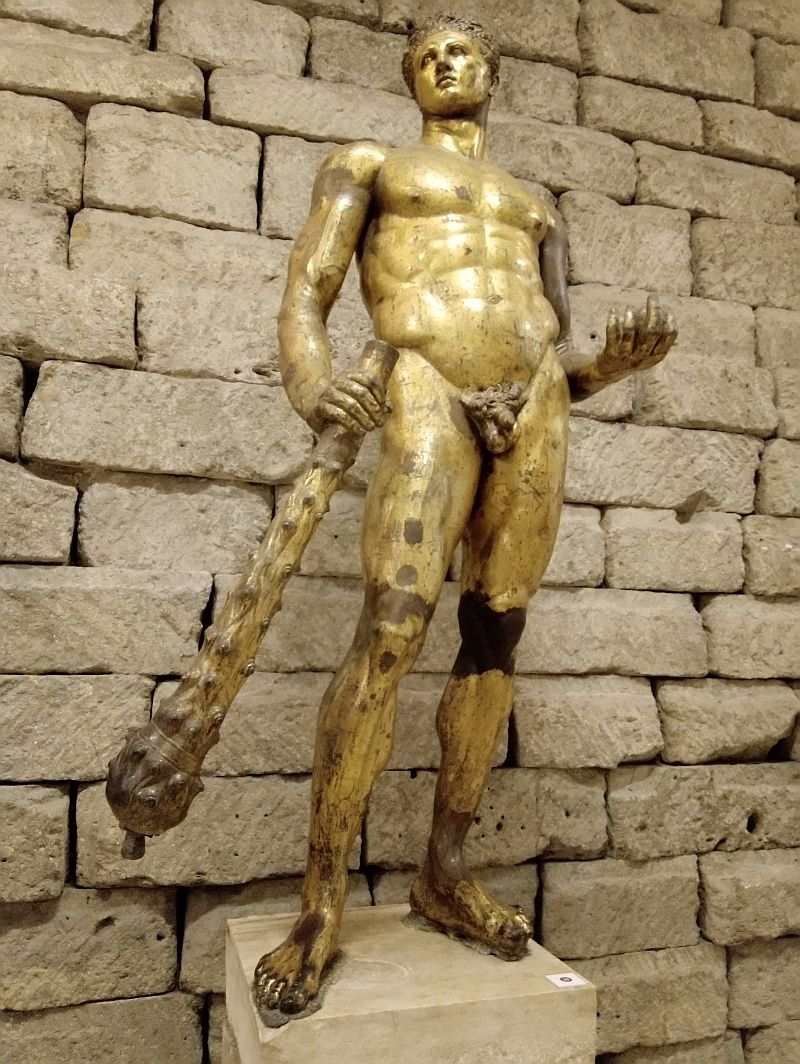 Statue of Hercules from Forum Boarium